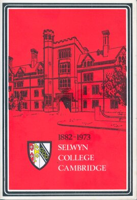 Selwyn College - cover of book Short History