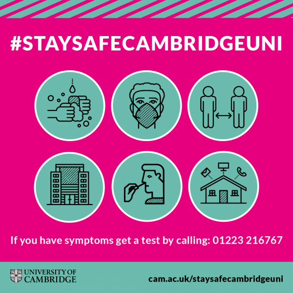 StaySafeCambridgeUni